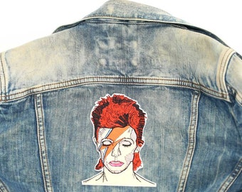 David Bowie Large Back Patch