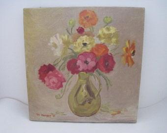Floral Still Life Painting