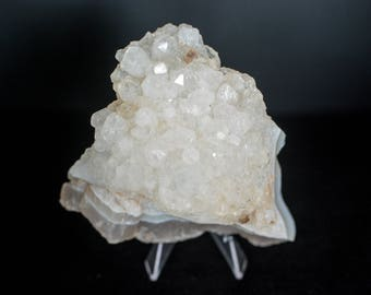 CLEAR QUARTZ Cluster -clear crystal - Natural Quartz Cluster - Clear Quartz Specimen Stone - Metaphysical Crystals - Reiki