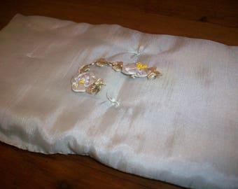 ribbon work wedding silk ribbon antique ombre metal edged ribbon