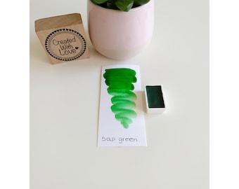 Full pan Sap green