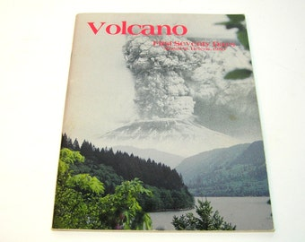 Volcano, First Seventy Days, Mount Saint Helens, 1980 Book
