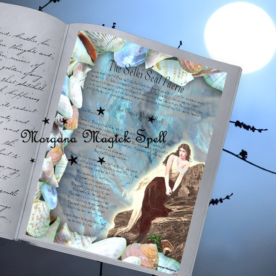 The Selkie Seal Faerie - Wishing Spell