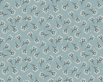 Into The Woods - Berry in Blue - Fat Quarter