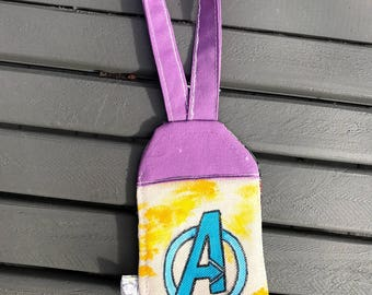 """Bag Tag - Hand painted luggage tag 