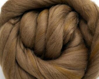 4 oz. Merino Wool Top Fudge