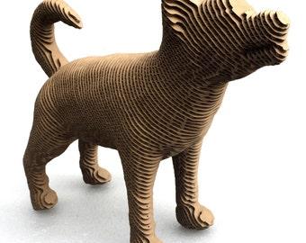 Small Cardboard Dog