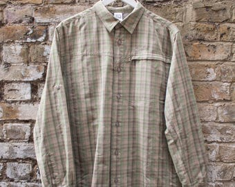 The North Face Plaid Check Shirt Zip Pocket Large
