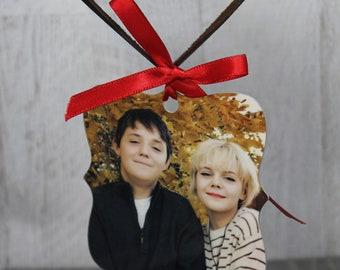 Photo Ornament, Custom Ornament, Christmas Decoration, Merry Christmas Ornament, Photograph Ornament, Personalized Christmas