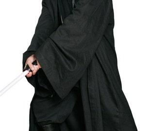 Star Wars Sith / Jedi Robe ONLY - Black - Replica Star Wars Costume JI2lJVIiSq