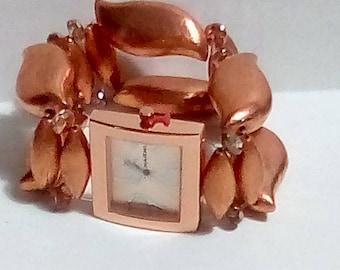 Copper Stretch Watch