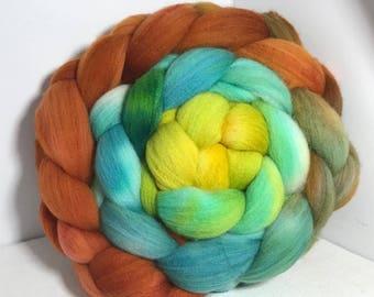Sale Spinning Fiber Rambouillet/Bombyx 60/40 - 5oz - Idaho Agate 2