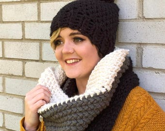 Oversized Ombre Cowl