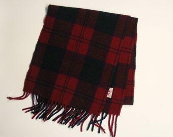 Vintage wool scarf