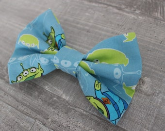 Toy Story Alien Inspired Hair Bow