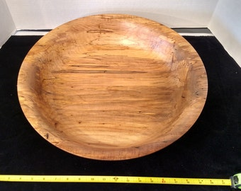 1603-Spalted Ambrosia Maple Bowl