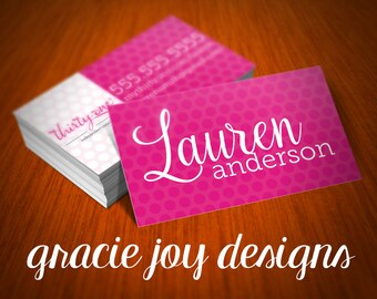 Thirty-One Business Card Design | DIGITAL | Business Card | Direct Sales Business Card Design | Direct Sales Printable | Thirty-One Design