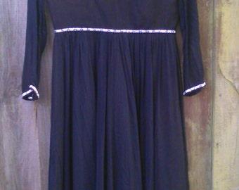 Vintage size 16 1970s Evening Dress