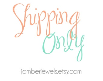 SHIPPING Only*** International First Class Mail