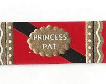 Princess Pat Vintage Cosmetic Label, 1930s