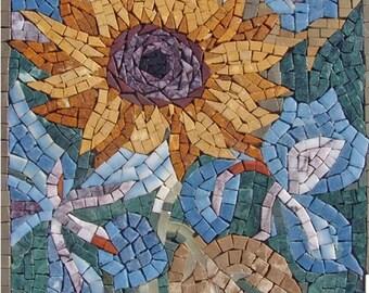 Contemporary SunFloral Art Mosaic