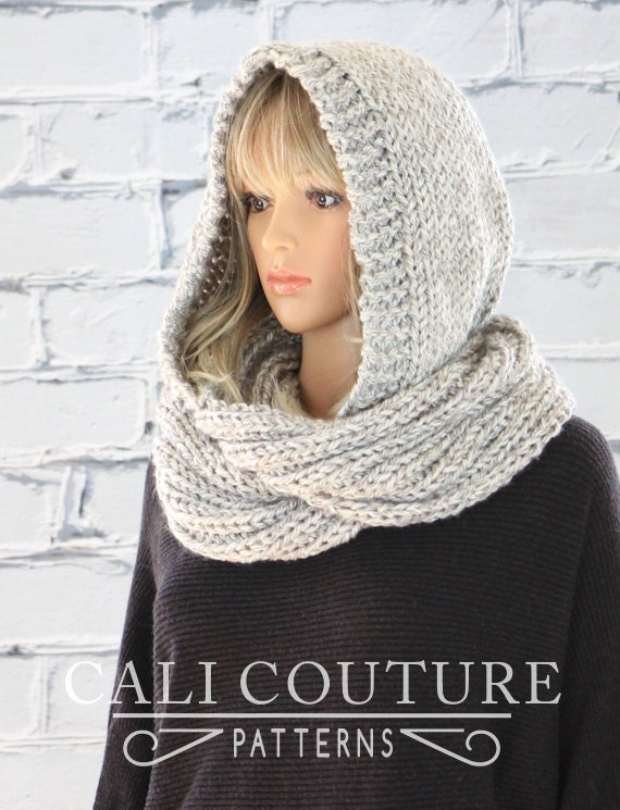 Montreal hooded scarf pattern 32 knit hooded infinity scarf dt1010fo
