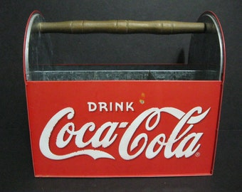 Vintage Coca-Cola Carrier, Coke Picnic Caddy