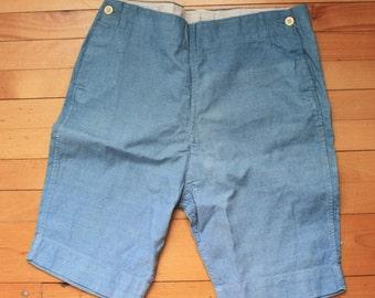 Coton pantalon court des années 1910 Antique Edwardian garçon