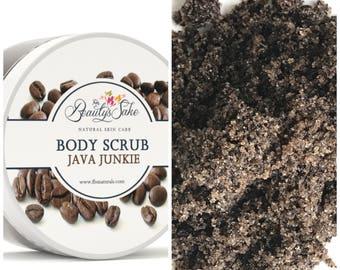 Java Junkie Organic Body Scrub - 12 oz
