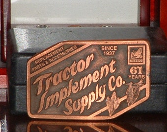 Pre-Owned Tisco Series IX 1937-1998 Limited Edition No 1352 Belt Buckle