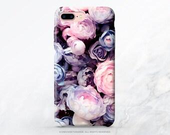 iPhone X Case iPhone 8 Case iPhone 7 Case Peonies iPhone 7 Plus iPhone 6s Case iPhone SE Case Tough Galaxy S8 Plus Case Galaxy S8 Case I91