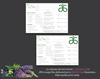 Arbonne Info Cards, Arbonne Raffle Entry, Instant download - Digital files supplied only, AB17