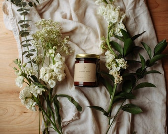 Cotton + Musk 9 oz. Soy Wax Candle