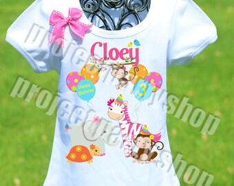 Zoo Animals Birthday Shirt