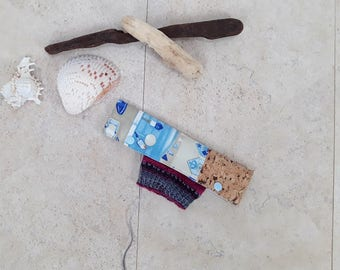Needle cozy, DPN holder, needle Cozies, needle guard, needle play bag, 8 inch/20 cm