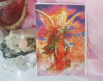 Archangel Michael Greeting Card - Free Postage