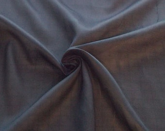 Dark Navy Handkerchief Linen fabric by the yard
