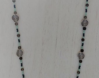 Spiral Gone Viral Necklace