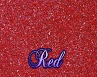 Real Red Kraft Glitter