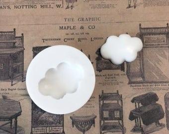 M0068 Sillicreations mold kawai Fluffy Cloud foodsafe silicone mould resin fimo soap mod podge