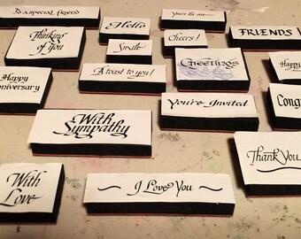 Card makers dream stamp set
