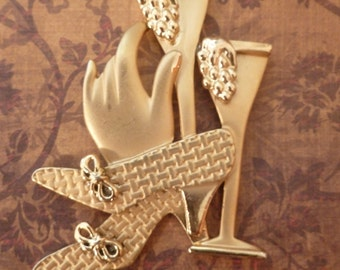 Champagne and High Heels - Magnet