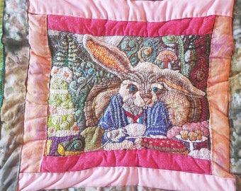 March Hare Quilt Square