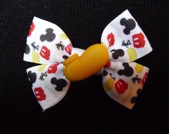 Disney bow - Mickey Parts - Yellow Shoe