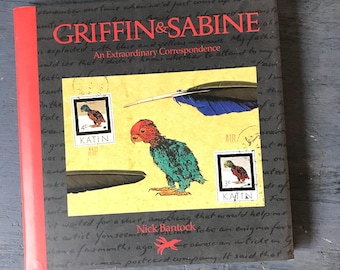 Griffin and Sabine An Extraordinary Correspondence - Nick Bantock - fantasy mystery love story - mail art - 1991