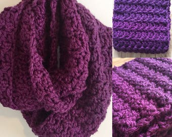 The Clare Cowl infinity Scarf