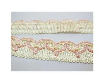 pink   braid trim embellishments