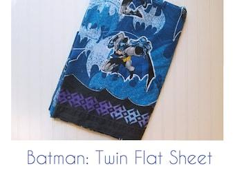 Batman Twin Flat Sheet