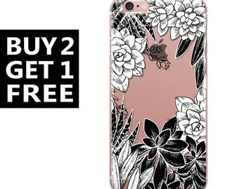 Black and White Flowers art iphone 7 plus,iphone 7,iphone 6s,iphone 6s plus,iphone 6,iphone 6 plus,iphone se,iphone 5c,iphone 5s case 56