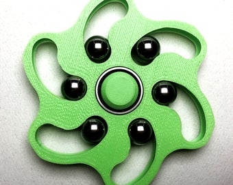 Perpetual Wave Fidget Spinner - 3D printed toy